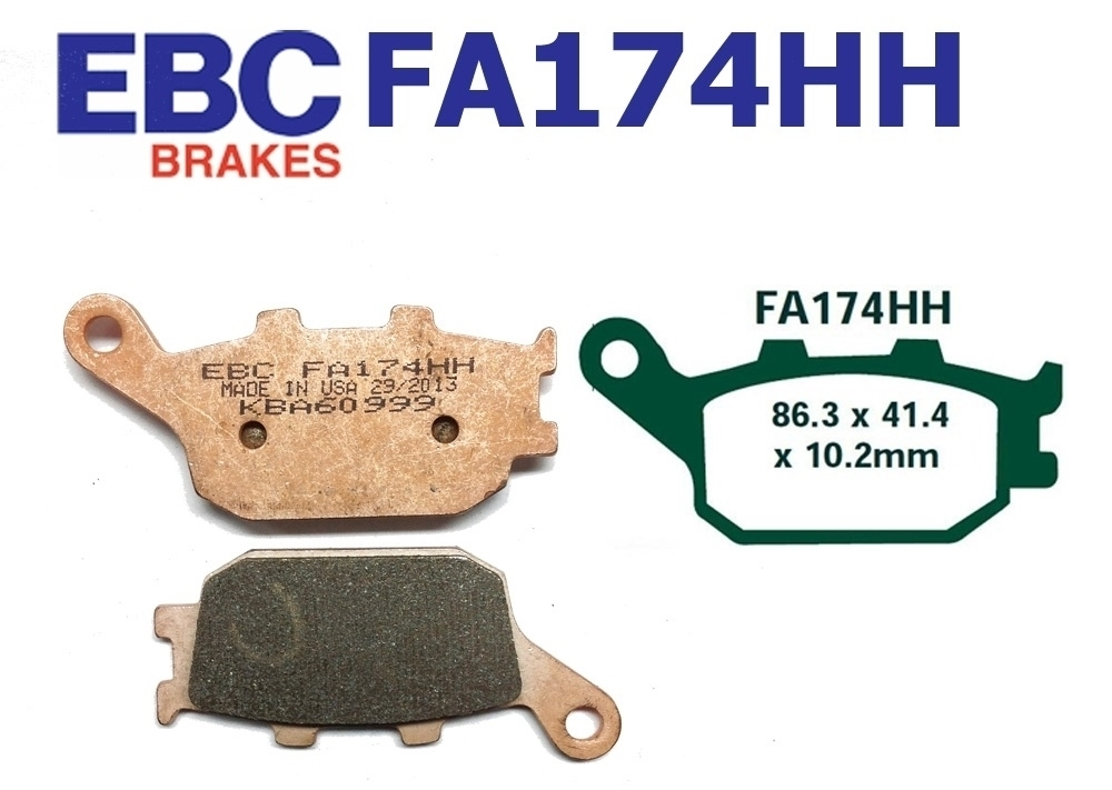 EBC Brake Pads FA174HH