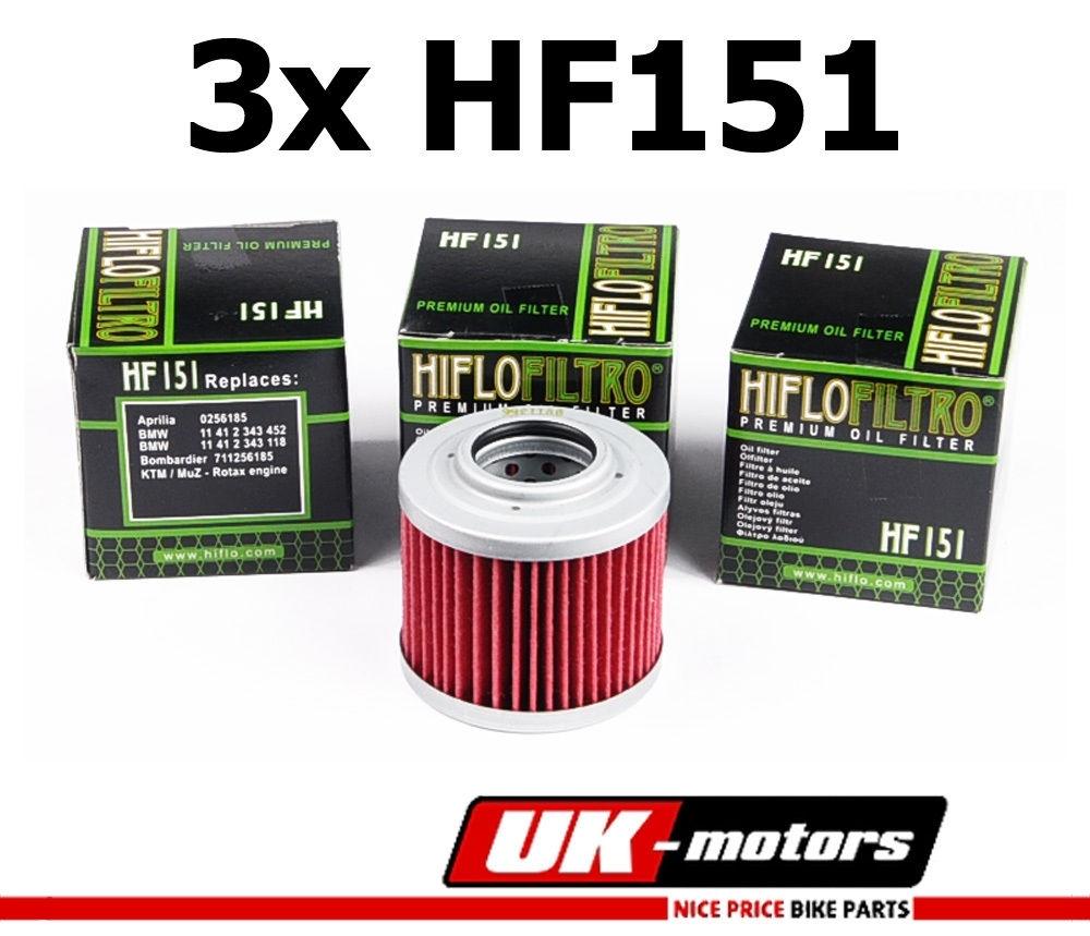 1x Hiflo Ölfilter HF151 MZ//MUZ RT 125 Classic
