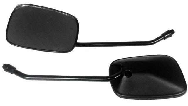 Chrome Rearview Mirrors Adjustable Angle for Suzuki AN250 AN400 Burgman 250 400